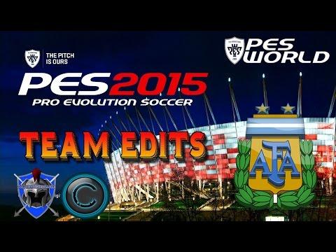 Pro Evolution Soccer 2015 Kit Editing | ARGENTINA Guide for Next Gen