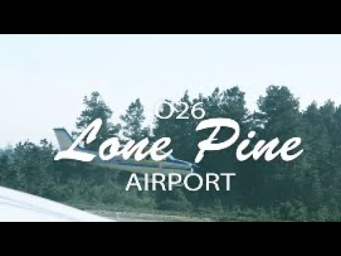 Flying with Tony Arbini into the Lone Pine Airport (026)- Lone Pine, California