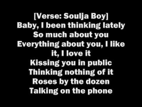 Kiss Me Thru The Phone Lyrics Soulja Boy Youtube