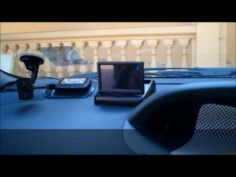 How To Install Foldable TFT Color LCD Car Reverse Rear View Monitor