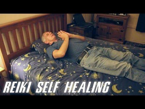 Reiki Spiritual Self Healing Treatment Session Techniques & Demonstration