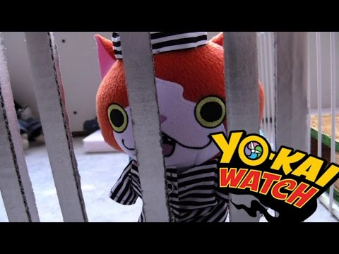 Yokai watch plush - Episode 20 Jibanyan Goes to Prison