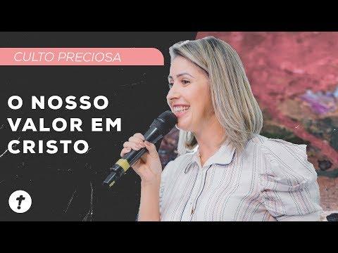 O Nosso Valor Em Cristo | Aline Santos