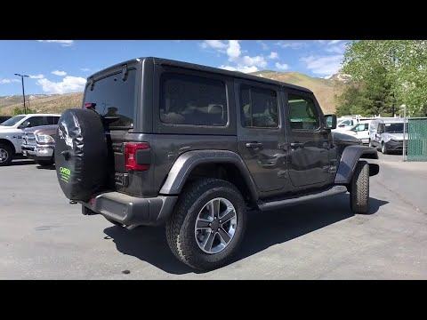 2019 Jeep Wrangler Carson City, Dayton, Reno, Lake Tahoe, Carson valley, Northern Nevada, NV 19W4057