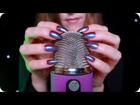 ASMR 1Hr Blue Yeti Scratching And Tapping (No Talking)