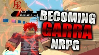 BECOMING GAARA | Magnet/Sand Release in Naruto RPG Beyond | Roblox | iBeMaine