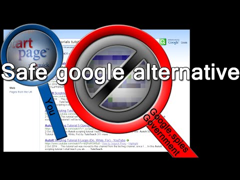 Google search alternative for 100% Google results that are safe, secure and private
