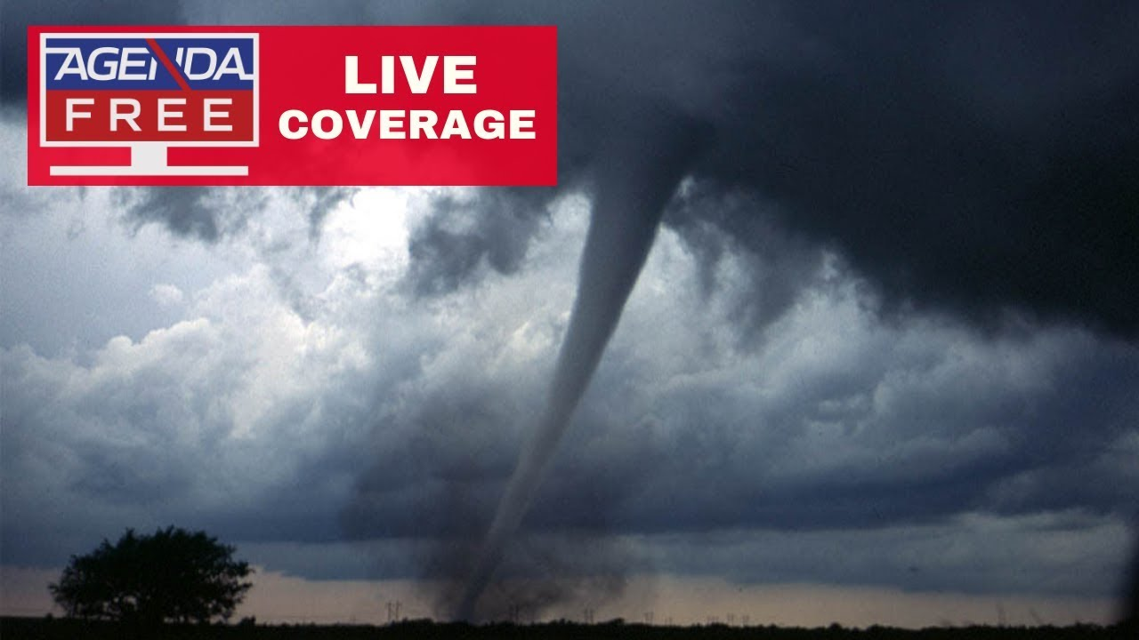 Tornado Threat in US Including Chicago, Denver - LIVE COVERAGE