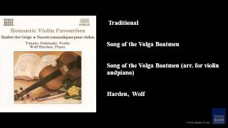 Traditional, Song of the Volga Boatmen, Song of the Volga Boatmen (arr. for violin and piano)