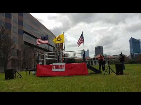 Live From MAGA March Rally Raleigh NC Make America Great Again 3/25/2017