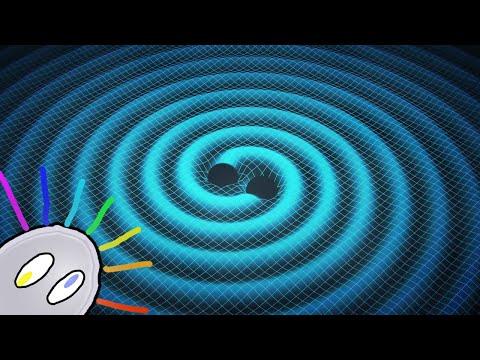 La canción del espacio-tiempo. (Ondas gravitacionales & LIGO)