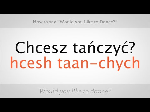 """How to Say """"Would You Like to Dance"""" 