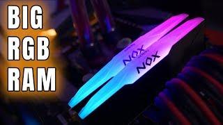 RAM z potężnym RGB - Apacer NOX RGB 3200MHz 16GB - test i oc