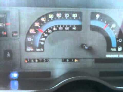 Burring Thespeedometer 91 S10