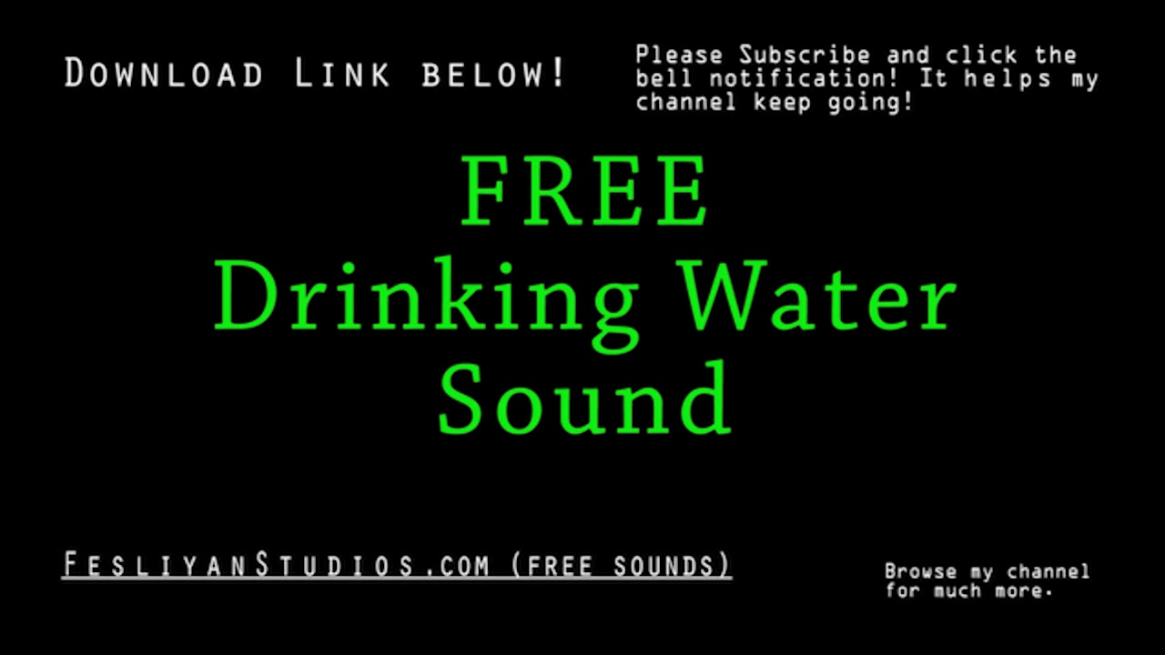 free sound download water