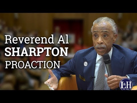 Reverend Al Sharpton: Shifting the discourse from Black Lives to Black Rights (2017) | UCD L&H