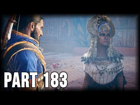Assassin's Creed Origins - 100% Walkthrough Part 183 – Main Quest: The Curse of the Pharaohs (2/3) thumbnail
