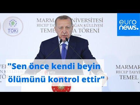Erdoğan'dan Macron'a NATO göndermesi: Sen önce kendi beyin ölümünü bir kontrol ettir