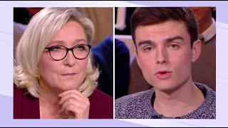 Ce que j'ai dit à Marine Le Pen sur France 2 (Replay - L'Emission Politique)