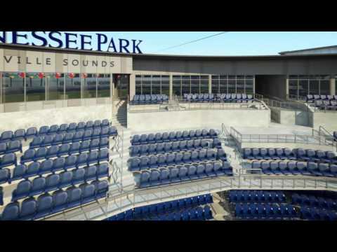 Ronnie And TKras - WATCH: Nashville Baseball Stadium