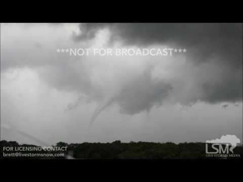5-19-17 Isabel, Kansas - Wall Cloud and Funnel