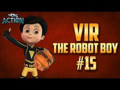 Vir: The Robot Boy | Hindi Cartoon Compilation For Kids | Compilation 15 | WowKidz Action thumbnail