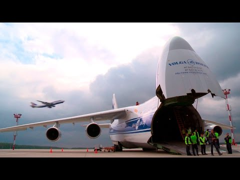 AirBridgeCargo and Airport Domodedovo |  Video report