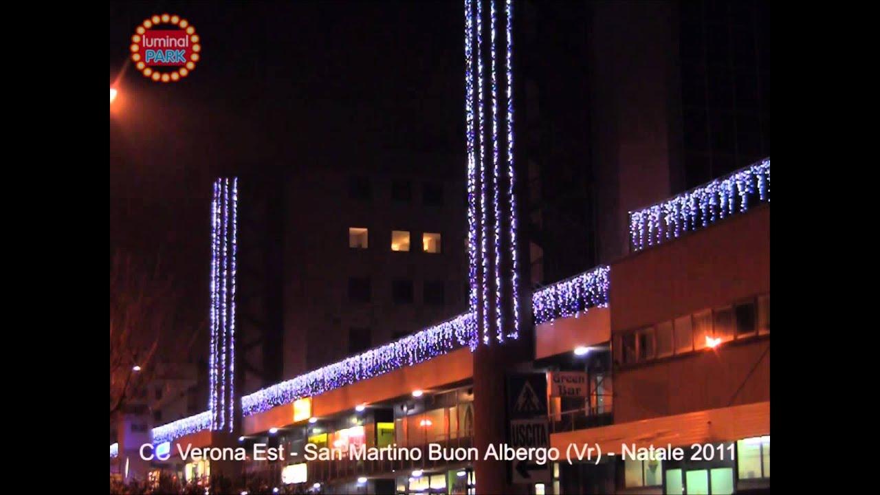 Luminarie natalizie al centro commerciale verona est san - Mondocasashop san martino buon albergo vr ...