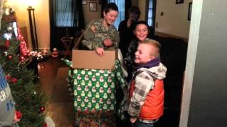 Army Sister Surprise