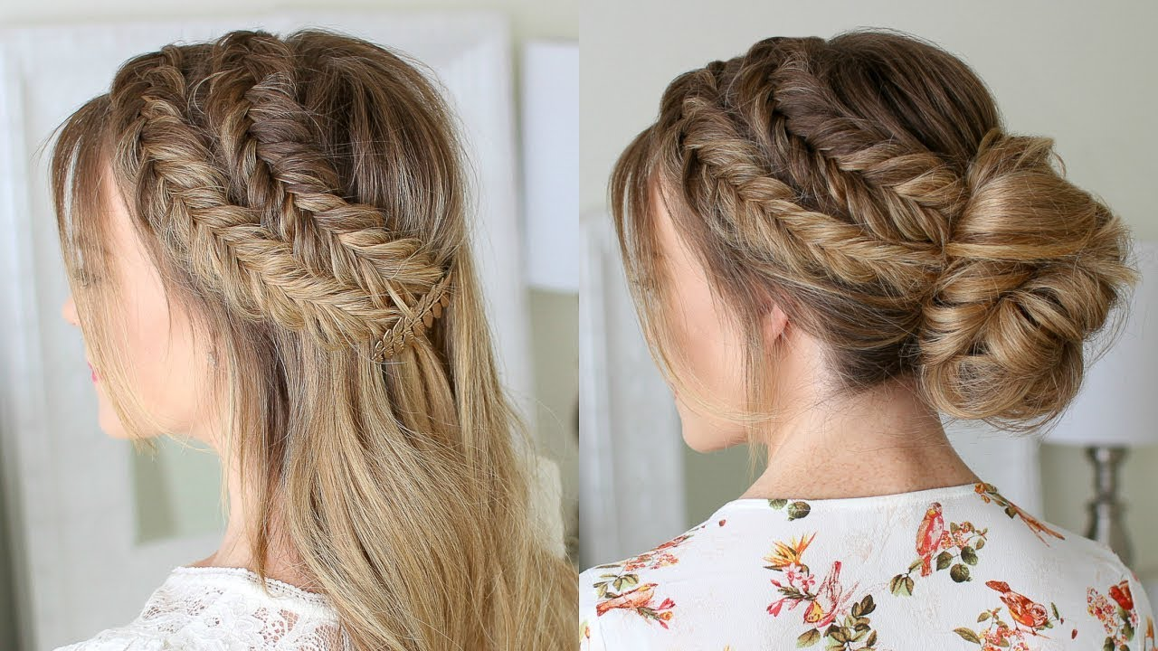 Hair Styles For Braids Pictures: Double Dutch Fishtail Braids 3 Ways