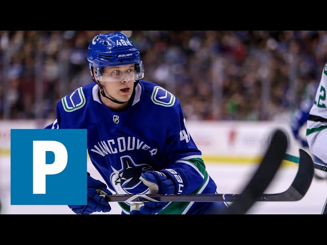 36a702722 Elias Pettersson remains upbeat about injury