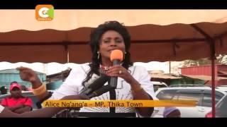 VIDEO:Supporters of Kiambu politicians clash at a fundraising ceremony