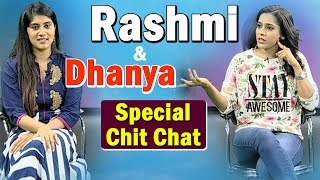 special-chit-chat-with-rashmi-and-dhanya-balakrishna-thanu-vachenanta-ntv