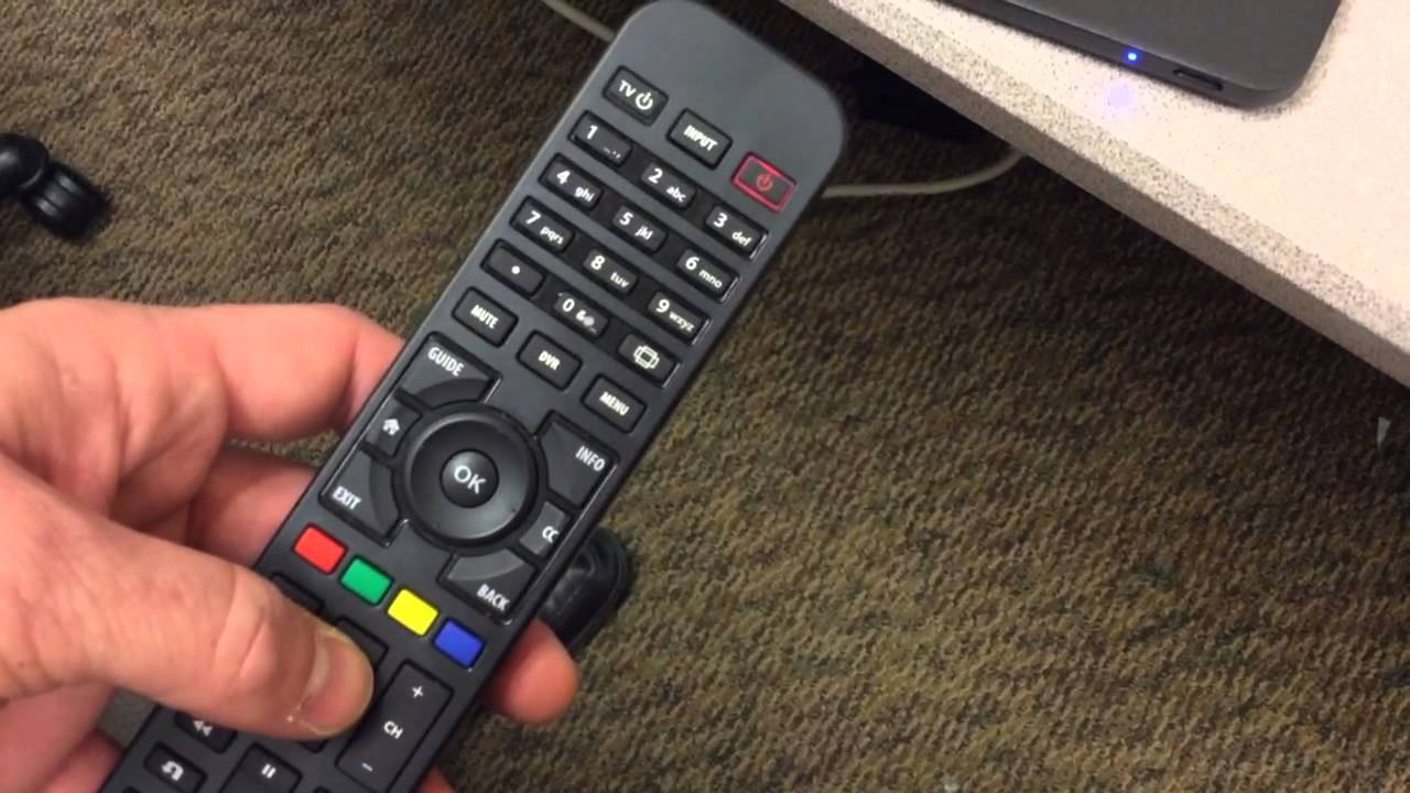 Changing Remote Control Address On A Channel Master Dvr Youtube