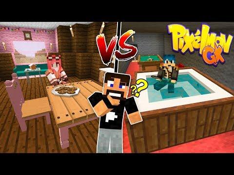 Minecraft ITA - La casa di Phere Vs La casa di Stef - W/Tearless Raptor
