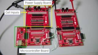 12-Cel Batterij Monitor Evaluatie Raad Van Bestuur Overzicht