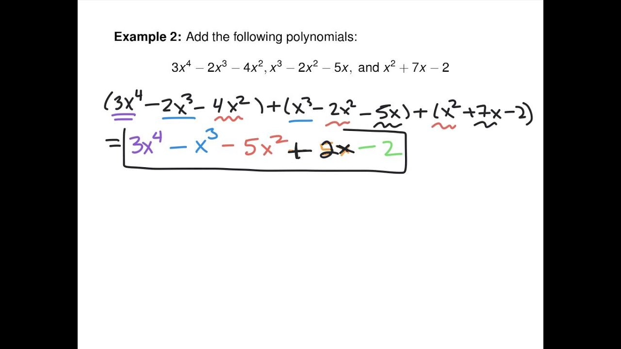 worksheet Basic Polynomial Operations r 3 polynomials basic operations and factoring youtube factoring