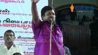 Actor Ramarajan and Valarmathi on Stage | Emotional Speech against DMK