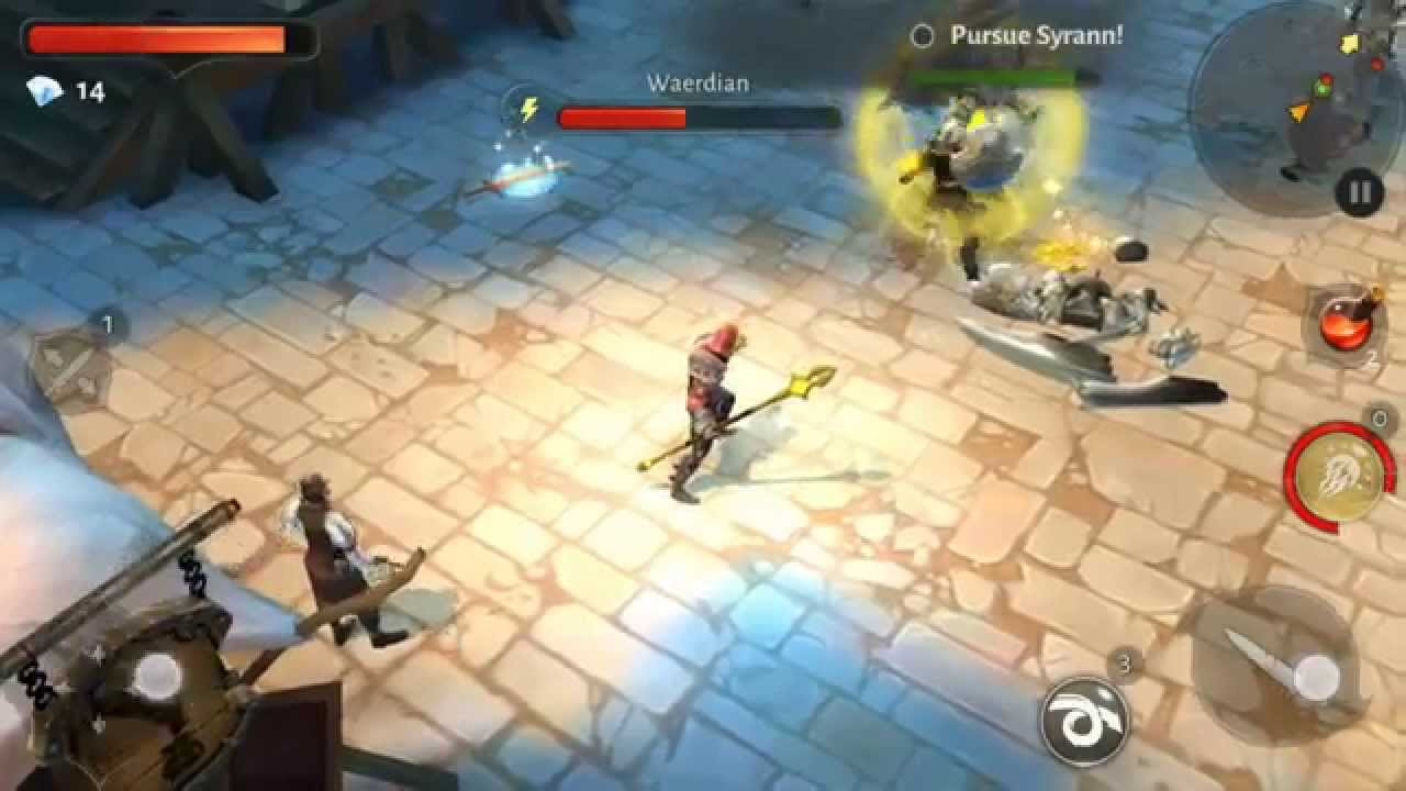 Dungeon Hunter 5 - New 2015 Android / iOS Gameplay Review RPG First Look -  YouTube