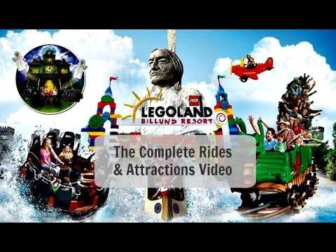 Legoland Denmark: Complete Attractions & Rides 2016