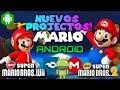 Nuevos Projectos De Mario Bros Para Android!!/Fan Games/