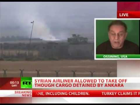 Syrian Airline from Moscow to Syria DETAINED by Ankara, Turkey