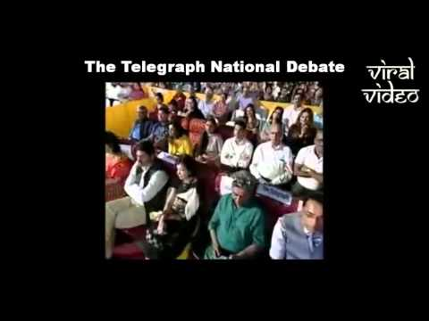 Fiery Anupam Kher At The Telegraph Debate   Every Indian Must Watch & Share This !