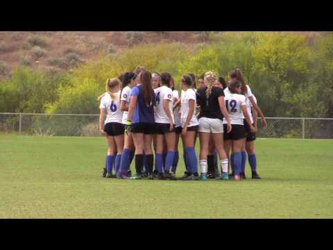2017 Real So Cal vs Mustangs FC - ECNL Phoenix Showcase