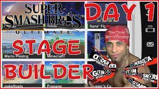 Super Smash Bros Ultimate Stage Builder Popular Stages Day 1!