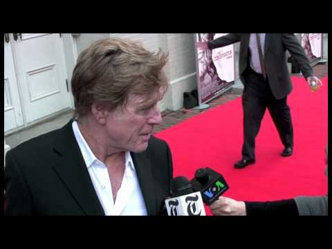 """Robert Redford at the Premiere of """"The Conspirator"""""""