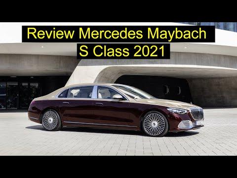 Mercedes Maybach S Class 2021 S680 động cơ V12 cực kỳ ĐẲNG CẤP - SANG TRỌNG