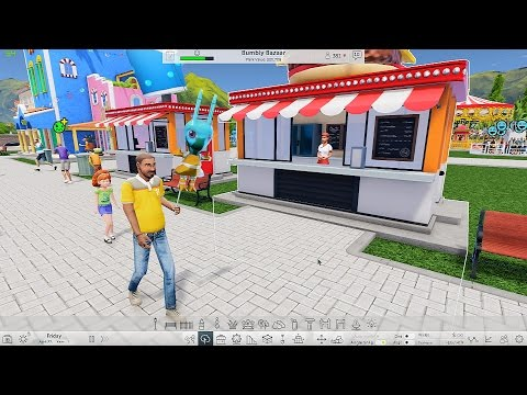 Roller Coaster Tycoon World 2016 - First Look 4K