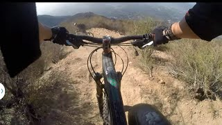 Mt Lowe / Mt Wilson Mountain biking. Sunset and El Prieto DH trails unedited 10/12/14