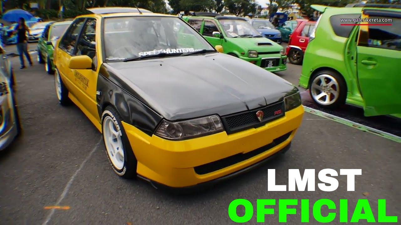 Proton Saga Lmst Aeroback Kuning Gathering Geng Sunroof Gages 2016